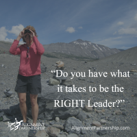Being the RIGHT Leader