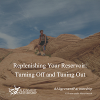 Replenishing Your Reservoir: Turning Off and Tuning Out